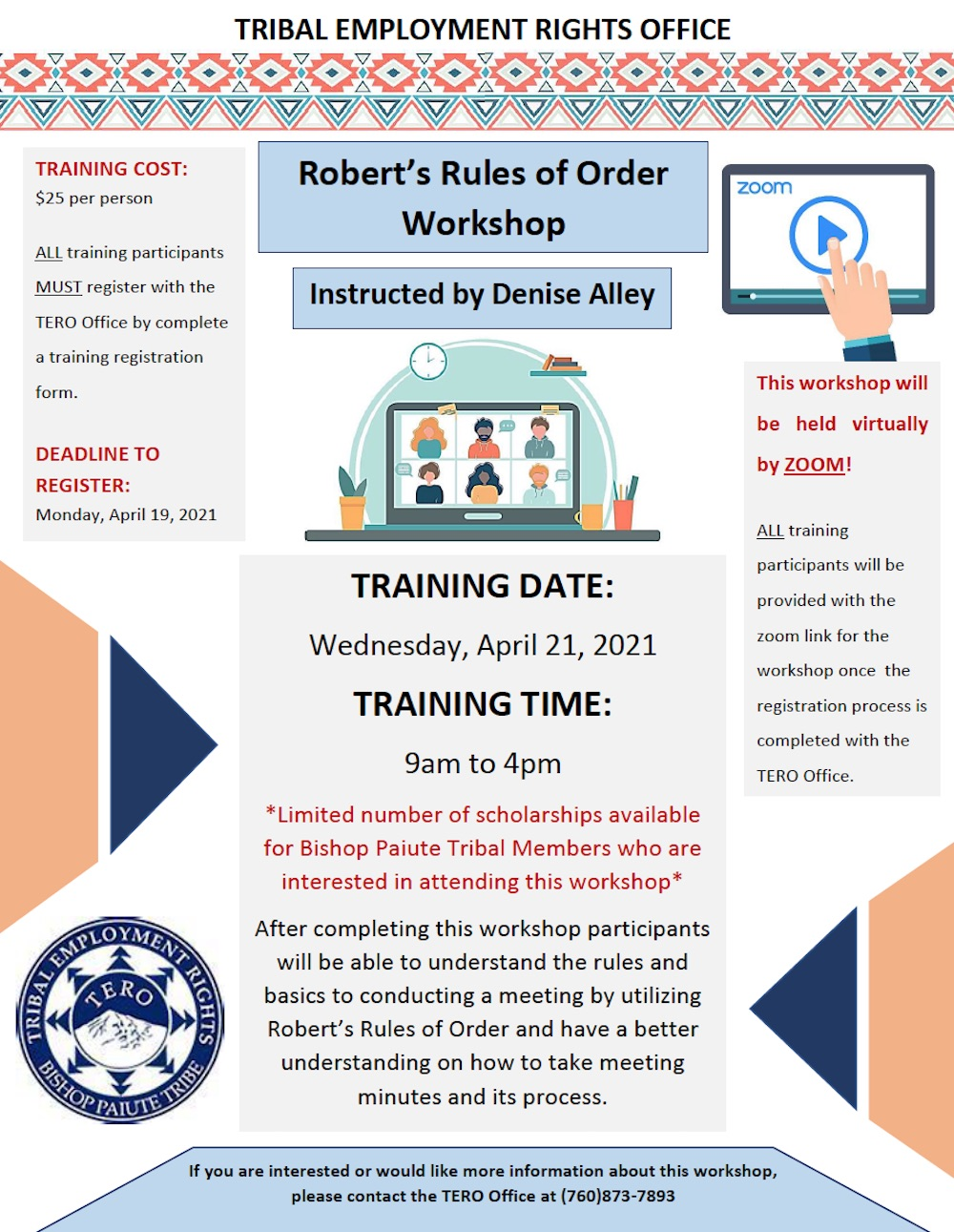 roberts rules of order workshop